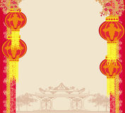 Mitt--höst festival för kinesiskt nytt år Royaltyfria Foton
