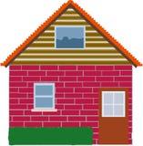 mitt home hus vektor illustrationer