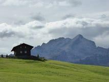 Mitt hus i Bayern Arkivfoto