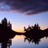 Mitt-Kuyguk sjö Royaltyfria Bilder