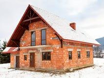 Mitt nya hus Fotografering för Bildbyråer