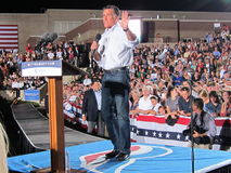 Mitt Romney 4. Current politics presidential campagne speech Colorado 9/24/2012 Stock Photography