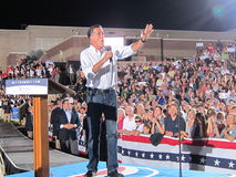 Mitt Romney 8. Current politics presidential campagne speech Colorado 9/24/2012 Stock Photography