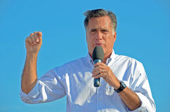 Mitt Romney campaigning Stock Photos