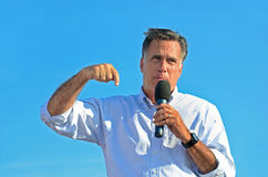 Mitt Romney giving a speech Royalty Free Stock Photos
