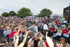 Mitt Romney, presidente de Paul Ryan, vice candidatos Imagen de archivo