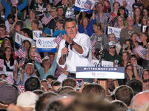 Mitt Romney Rally Stock Photography