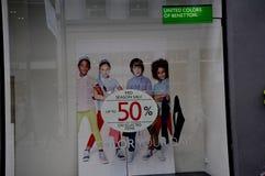 50% MITT- SÄSONG SALE Fotografering för Bildbyråer
