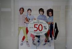 50% MITT- SÄSONG SALE Royaltyfri Bild