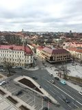 Mitt Vilnius, Litauen Arkivbild