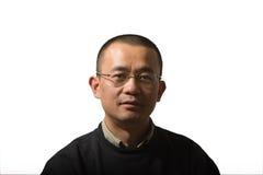 mitt- vuxen asiatisk man Royaltyfri Foto