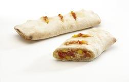 Mittag panino Stockfoto