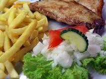Mittagessen Stockfotos