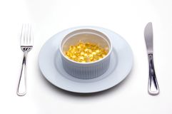 Mittagessen des Vitamin-E (Tocopherol) stockfoto