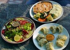 Mittagessen-Inder Stockbild