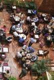 Mittagessenzeit Stockbild