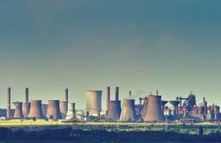 Mittal Steel Galati Fotografering för Bildbyråer