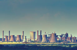 Mittal Steel Galati Stockbild