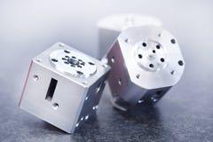 Mitte CNC-maschineller Bearbeitung Stockbilder