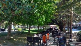 Mitte der Stadt von Serres, Griechenland lizenzfreies stockfoto