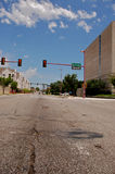 Mitte der Straße Lizenzfreies Stockfoto