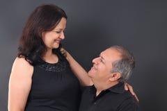 Mitte gealterte Paare stockbild