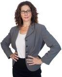 Mitte gealterter weiblicher Fachmann Lizenzfreie Stockbilder