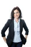 Geschäftsfraulächeln Lizenzfreie Stockbilder