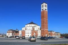 Mitte John Pauls II nannte das Habung keine Furcht Krakau, Polen Stockbild