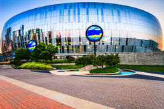Mitte Kansas Citys Sprint Stockfotos