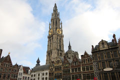 Mitte von Antwerpen, Belgien stockfotografie