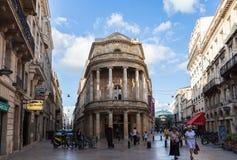 Mitte von Bordeaux Lizenzfreies Stockfoto