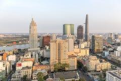 Mitte von Ho Chi Minh-Stadt stockfotos