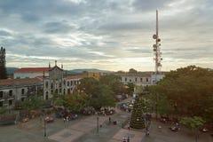 Mitte von Leon-Stadt Stockfoto