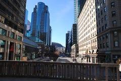 Mitte von Montreal Lizenzfreie Stockfotografie