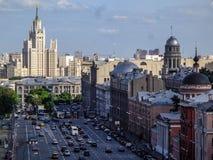 Mitte von Moskau Stockfotografie