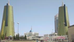 Mitte von neuem Astana stock footage