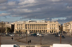Mitte von Paris Stockbild
