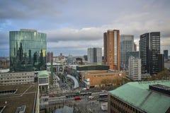 Mitte von Rotterdam Stockbilder