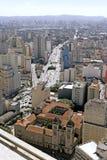 Mitte von Sao Paulo Lizenzfreie Stockfotos