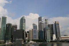 Mitte von Singapur, glättend in der Stadt Stockfotografie