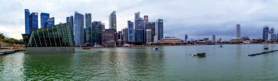 Mitte von Singapur, glättend in der Stadt Lizenzfreie Stockfotografie