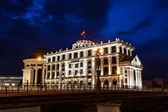Mitte von Skopje stockfoto