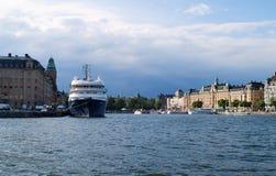 Mitte von Stockholm Stockfoto