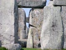 Mitte von Stonehenge Stockbild