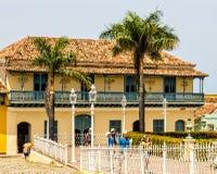 Mitte von Trinidad-Stadt Stockbilder