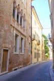 Mitte von Vicenza Lizenzfreies Stockbild