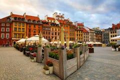 Mitte von Warschau Stockbilder