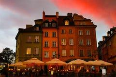 Mitte von Warschau Lizenzfreie Stockfotografie