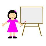 Mitteilung Copyspace stellt junge Frau und Kind dar Lizenzfreie Stockfotos